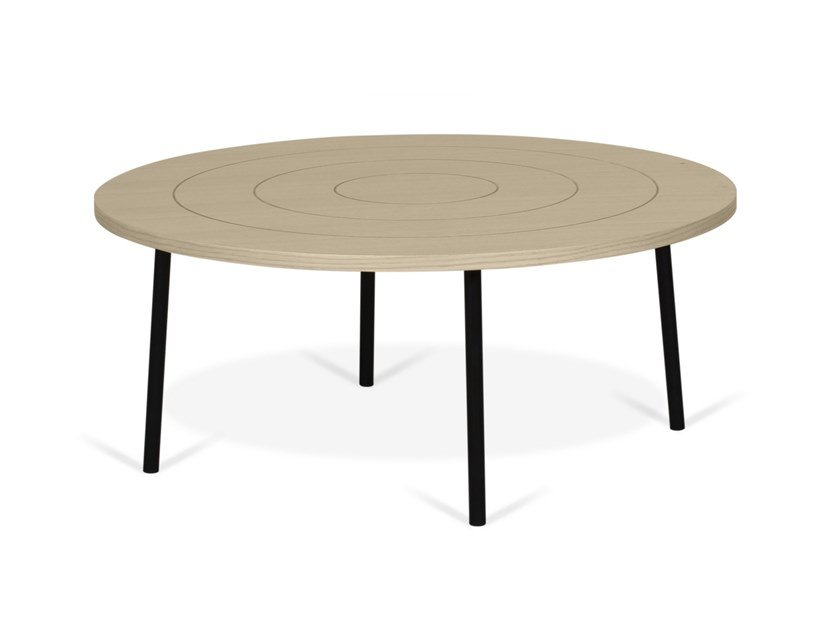 Low round MDF coffee table PLY | MDF coffee table by TemaHome