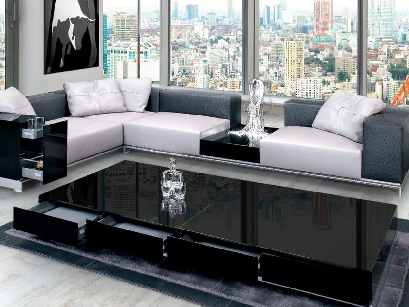 Low modular coffee table for living room PISTA | Coffee table by Tonino Lamborghini Casa