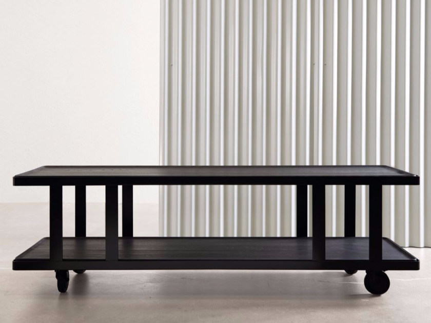 Rectangular coffee table with tray HUTCH | Coffee table with tray by Atipico