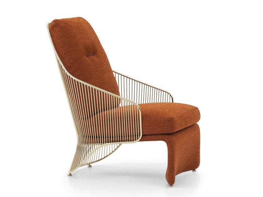 Bergere armchair COLETTE   Bergere armchair by Minotti