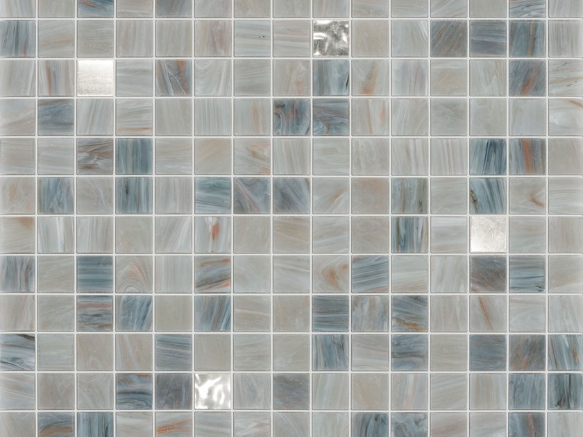 Glass mosaic COLIMA GOLD by Elements Mosaic