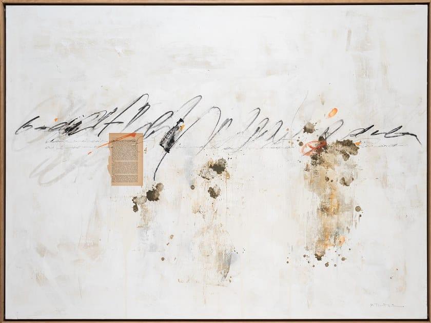 Canvas Painting Collage caligrafía by NOVOCUADRO ART COMPANY