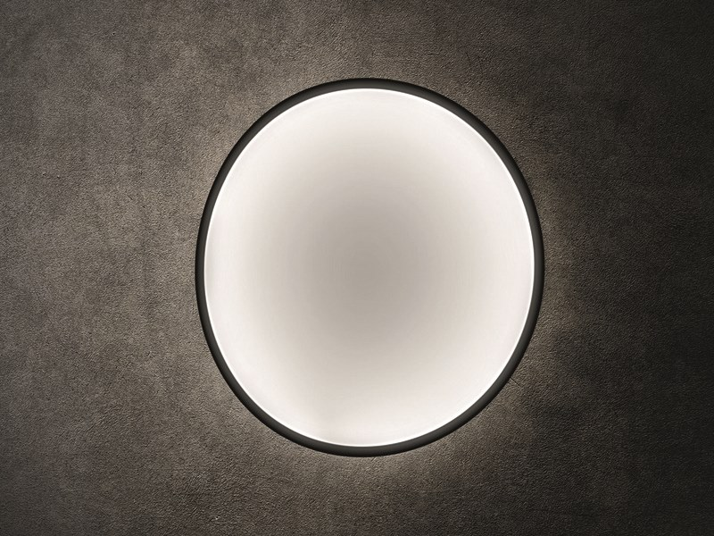 LED technical fabric wall light COLLAPSIBLE MOON | Wall light by Pallucco
