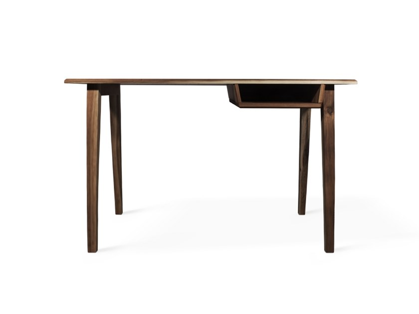 Walnut secretary desk COLLINS by Wood Tailors Club