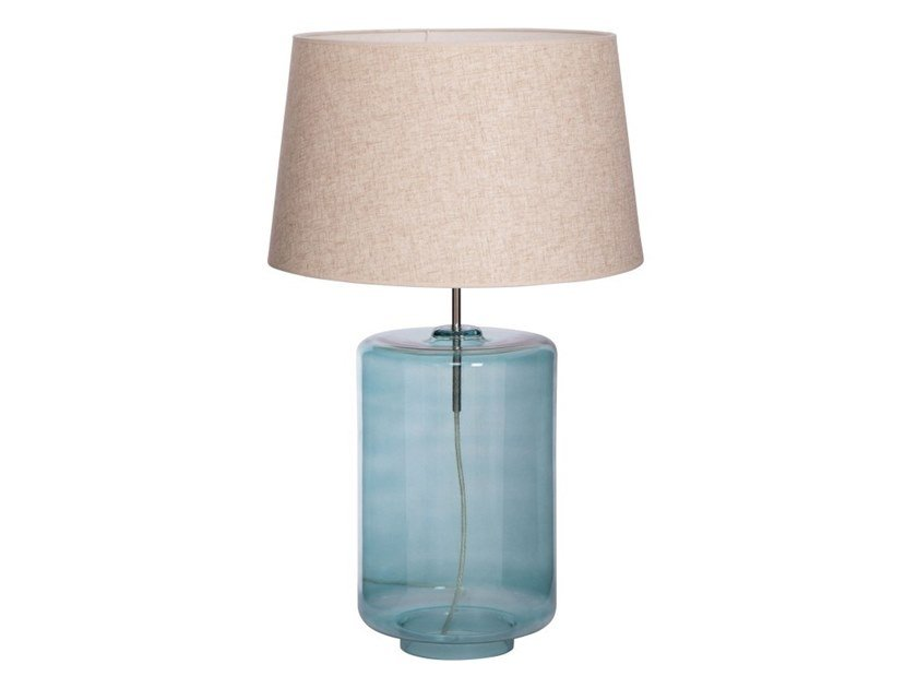 Blown glass table lamp COLONIA by Flam & Luce