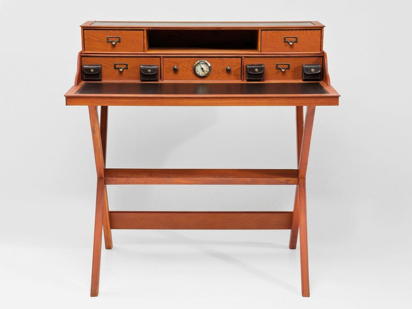 Wooden secretary desk COLONIAL CROSS by KARE-DESIGN