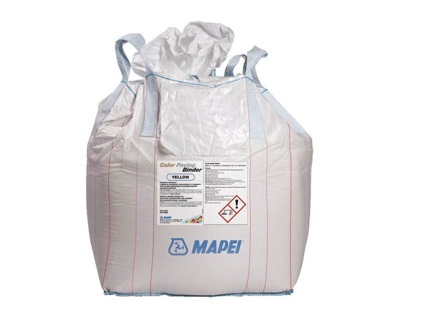 Pre-mixed screed COLOR PAVING BINDER by MAPEI