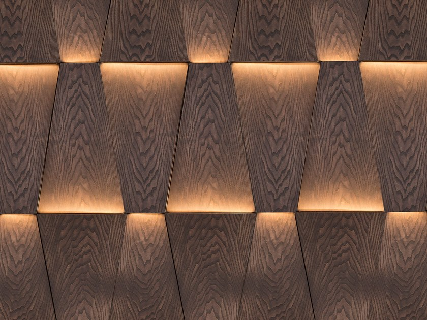 Modular wooden 3D Wall Cladding COLORADO by NEXT LEVEL DESIGN STUDIO