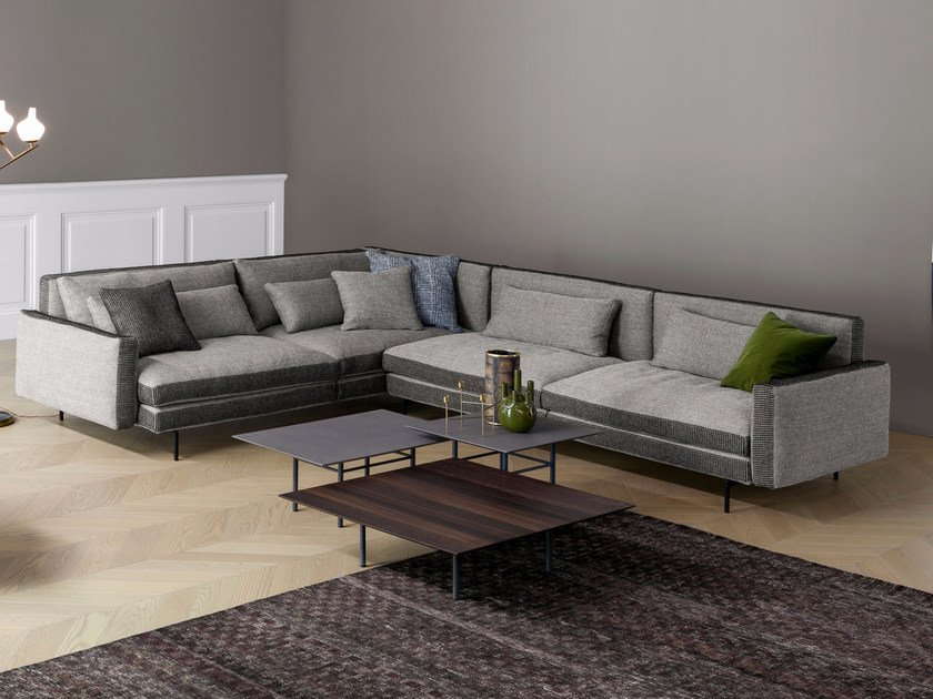 Corner Sectional Fabric Sofa Colors By Bonaldo
