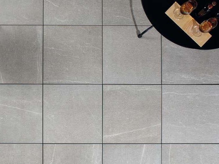 Outdoor floor tiles with stone effect COLOSSEO BRESSA by GRANULATI ZANDOBBIO