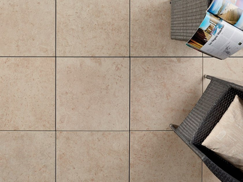 Outdoor floor tiles with stone effect COLOSSEO PIETRA DI GERUSALEMME by PIETRA SINTERIZZATA