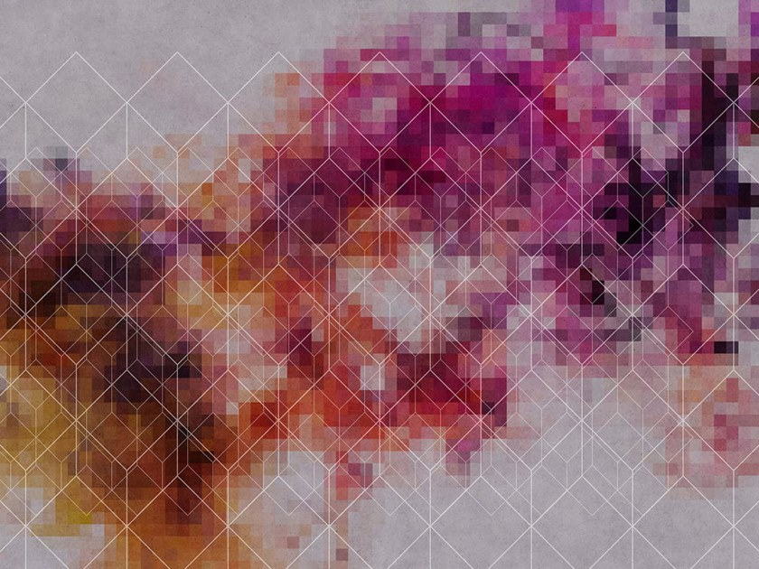 Motif Digital printing wallpaper COLOUR NETWORK by Architects Paper