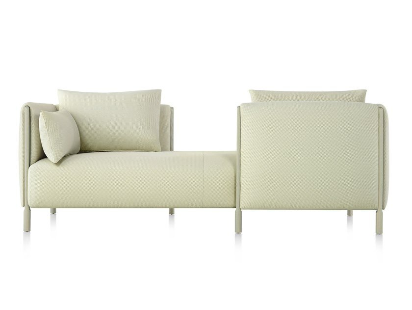 2 Seater Fabric Sofa Colourform TÊte À