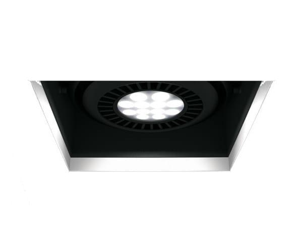 LED multiple recessed aluminium spotlight COMA A by FLASH DQ