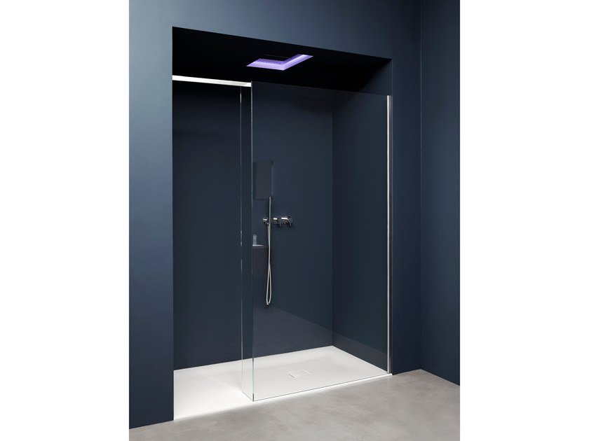 Niche tempered glass shower cabin COMBI | Niche shower cabin by Antonio Lupi Design
