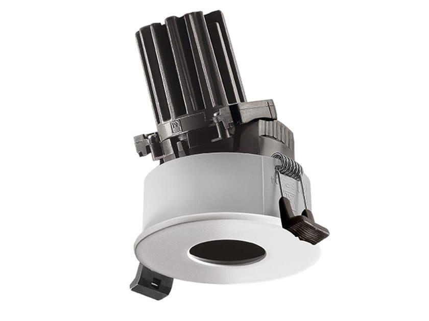 LED round recessed aluminium spotlight COMBINA D 2.1 by L&L Luce&Light