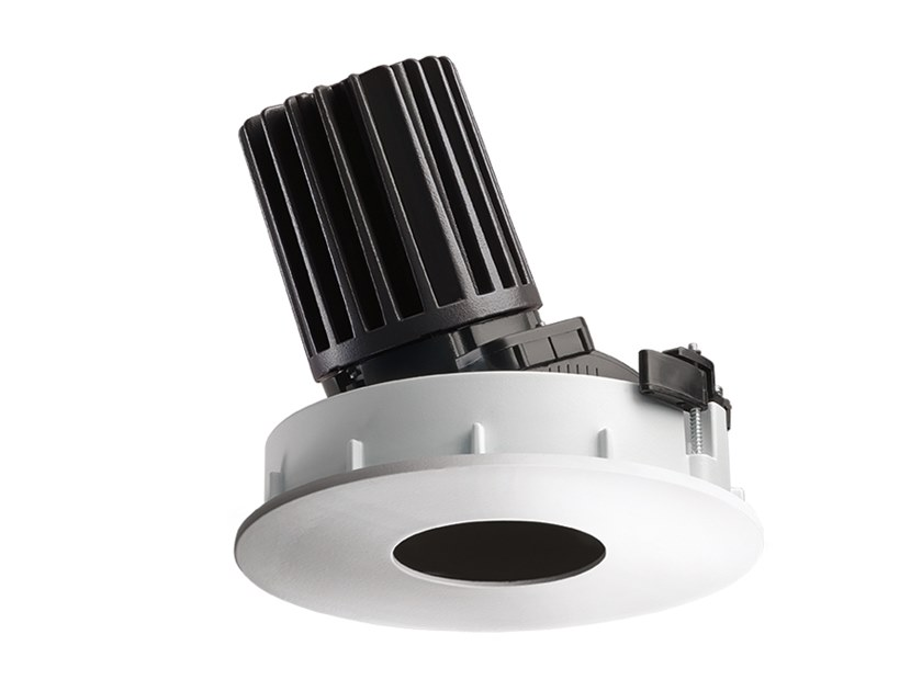 LED round recessed aluminium spotlight COMBINA D 3.1 by L&L Luce&Light