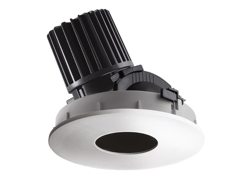 LED round recessed aluminium spotlight COMBINA D 4.1 by L&L Luce&Light