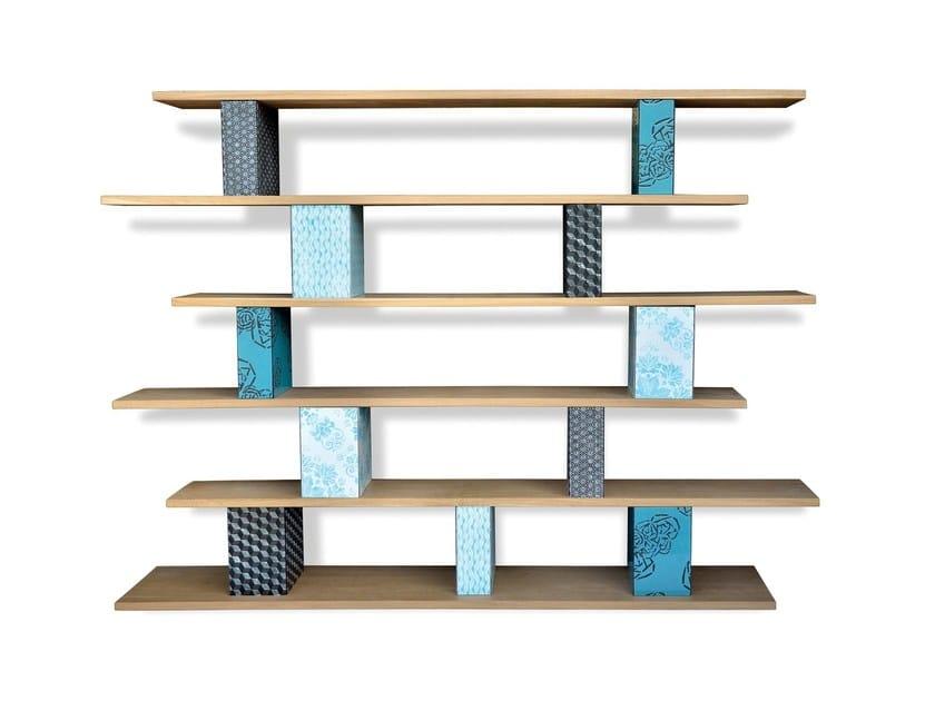 Sectional bookcase COME TU MI VUOI BOX by Made a Mano