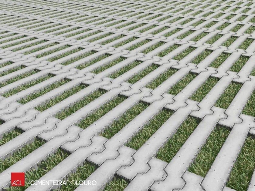 Grigliato erboso in calcestruzzo cometa acl - Losas de hormigon para jardines ...