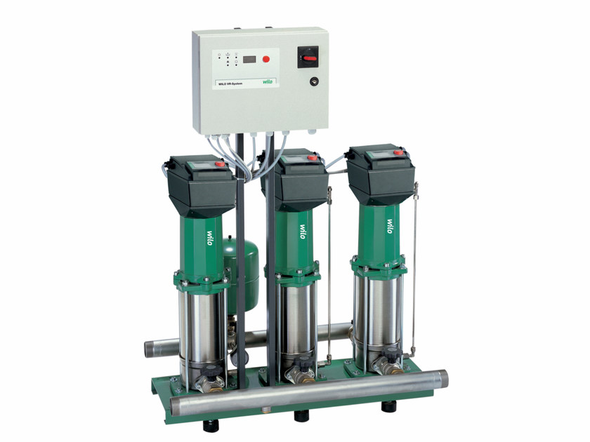 Pump and circulator for water system COMFORT-N VARIO COR MVISE by WILO Italia