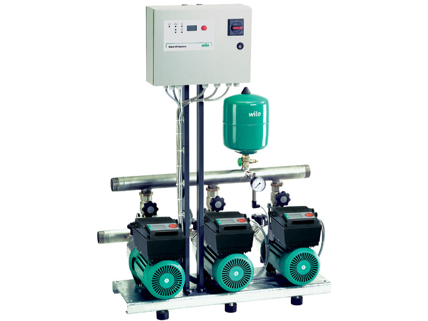 Pump and circulator for water system COMFORT VARIO COR MHIE by WILO Italia