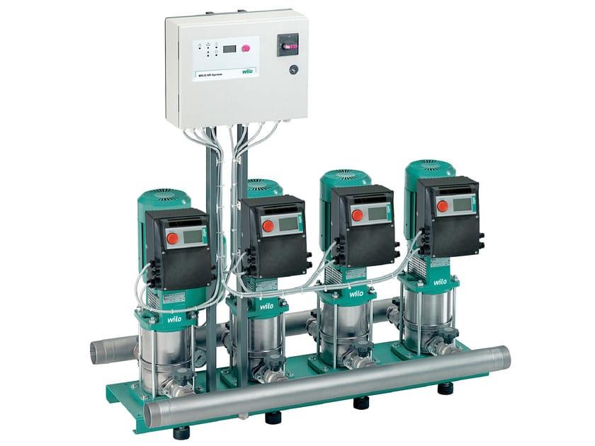 Pump and circulator for water system COMFORT VARIO COR MVIE by WILO Italia