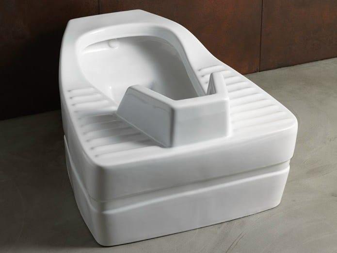 Squat toilet COMMUNITY   Squat toilet by Alice Ceramica