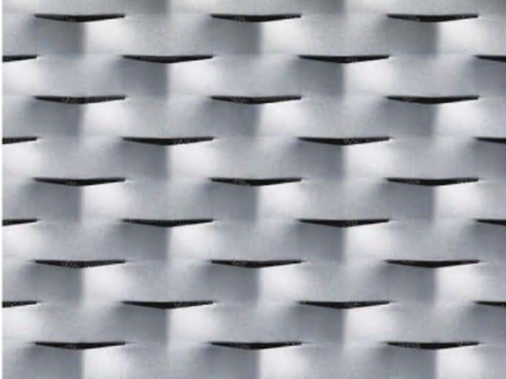 Rete stirata per rivestimento di facciata COMO by ItalMesh
