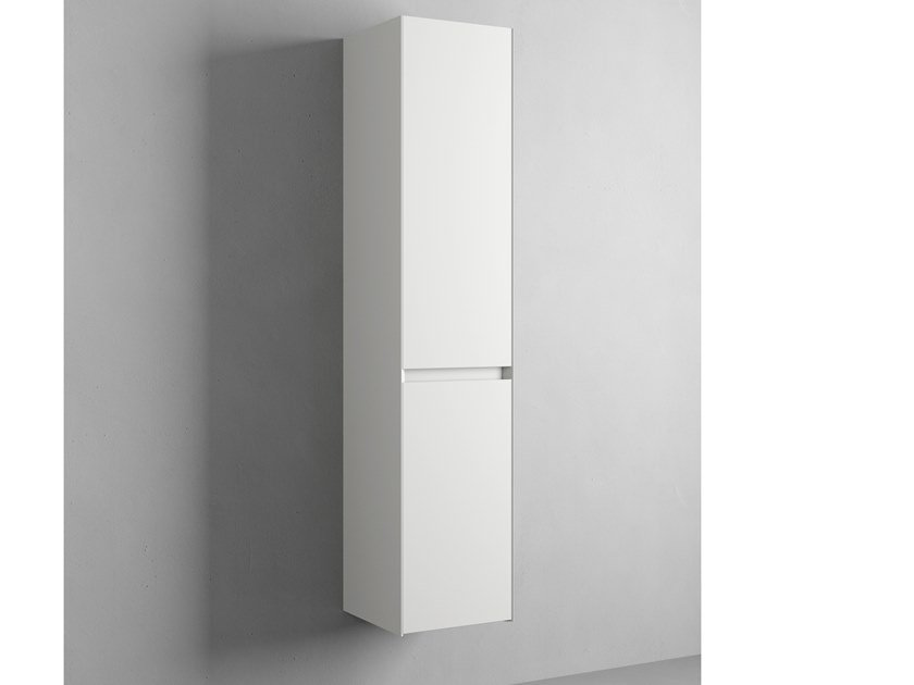 COMPACT LIVING | Bathroom wall cabinet with doors