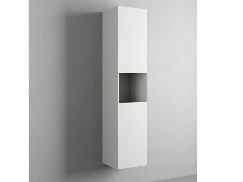COMPACT LIVING | Column bathroom wall cabinet