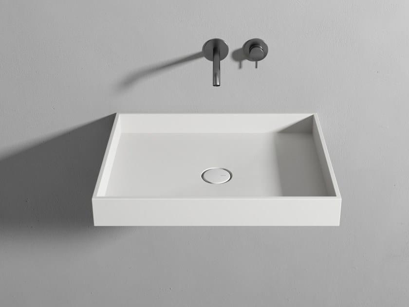Lavabo da appoggio in Corian® EVE by Rexa Design