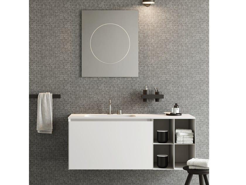 Mobile lavabo sospeso COMPACT LIVING - SET 10 by Rexa Design
