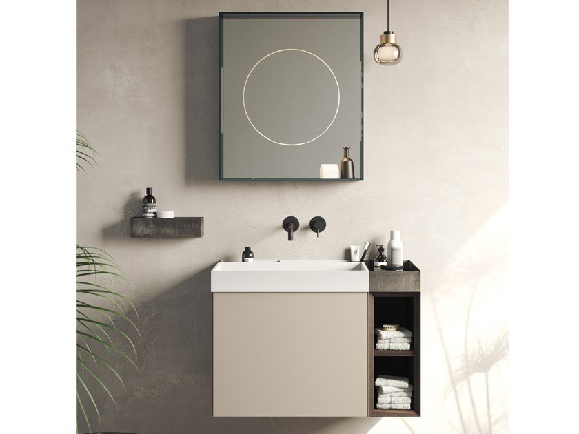 Mobile lavabo sospeso COMPACT LIVING - SET 2 by Rexa Design