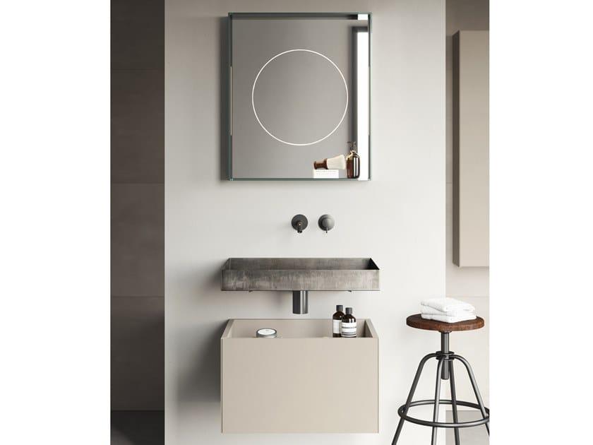 Mobile lavabo sospeso COMPACT LIVING - SET 4 by Rexa Design
