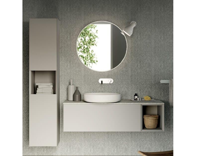 Mobile lavabo sospeso COMPACT LIVING - SET 7 by Rexa Design
