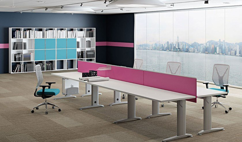 Multiple Office Workstation For Open Space COMPACT | Office Workstation  Compact Collection By Arcadia