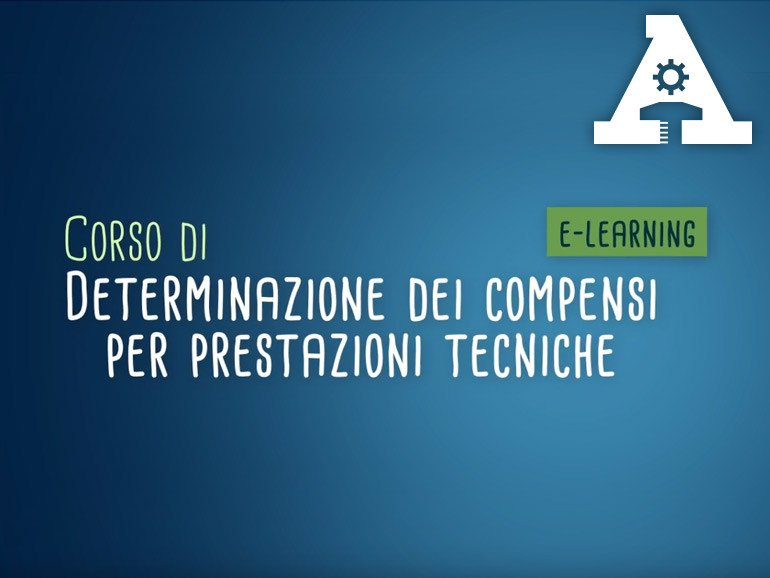 Health and safety training course COMPENSI PER PRESTAZIONI TECNICHE by Accademia Tecnica