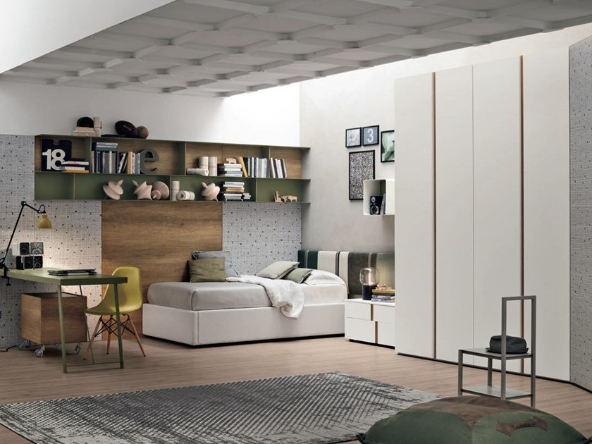 Teenage bedroom COMPOSITION 02 by Gruppo Tomasella
