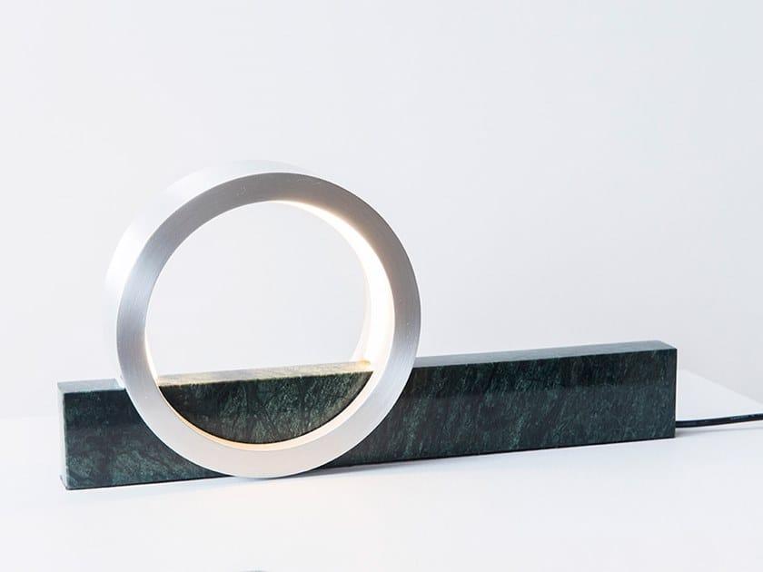LED marble table lamp COMPOSITION LIGHT by FÓLK Reykjavik