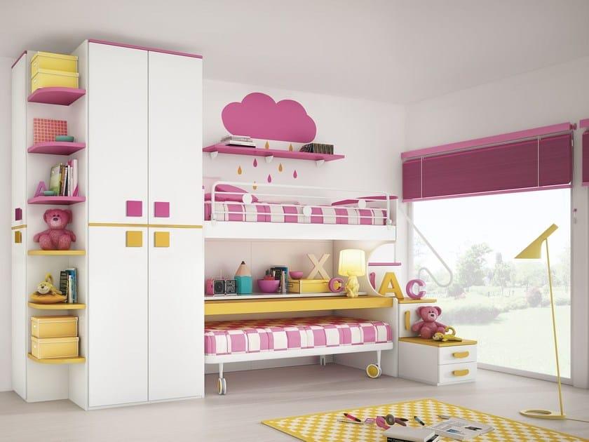 Loft bedroom set COMPOSITION 35 by Mottes Mobili