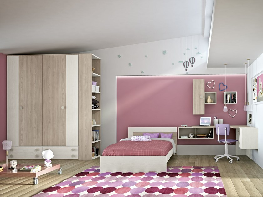 Teenage bedroom COMPOSITION 5 by Mottes Mobili