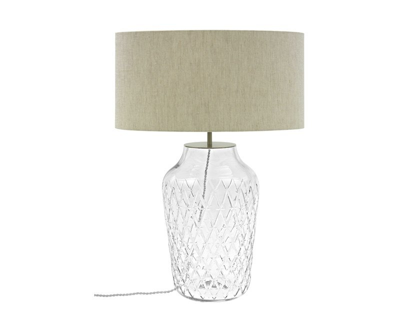 Crystal table lamp COMTESSE | Table lamp by Vista Alegre