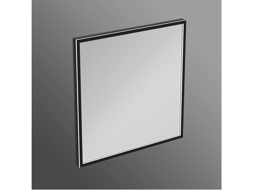 Espelho quadrado com luzes integradas para banheiro CONCA - T3966BH by Ideal Standard