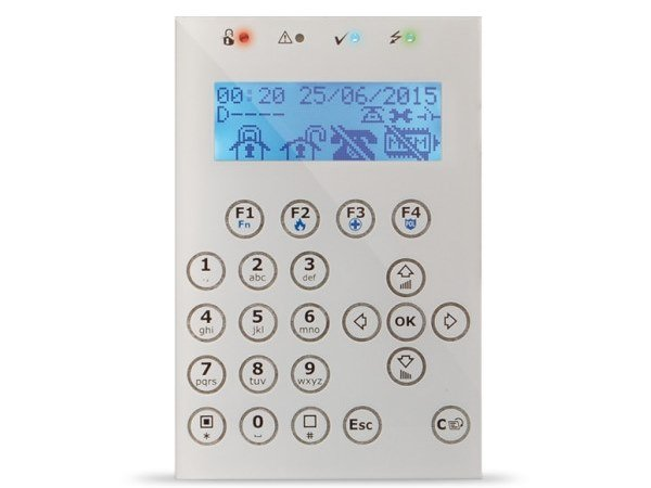Tastiera con display grafico retroilluminato Concept/G by INIM ELECTRONICS