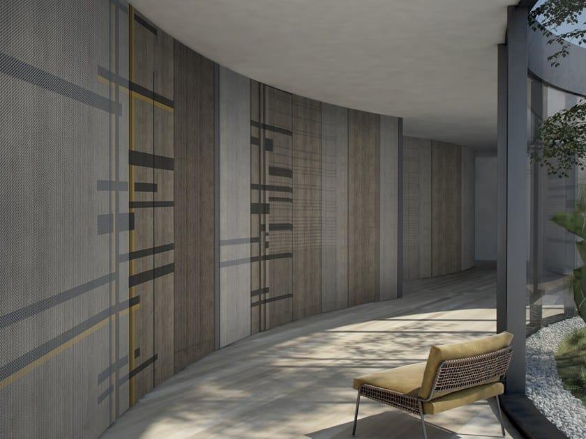 Striped wallpaper CONCEPT by GLAMORA