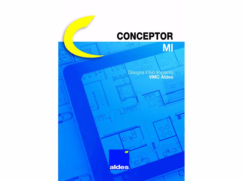 Software for home and building automation CONCEPTOR MI by ALDES