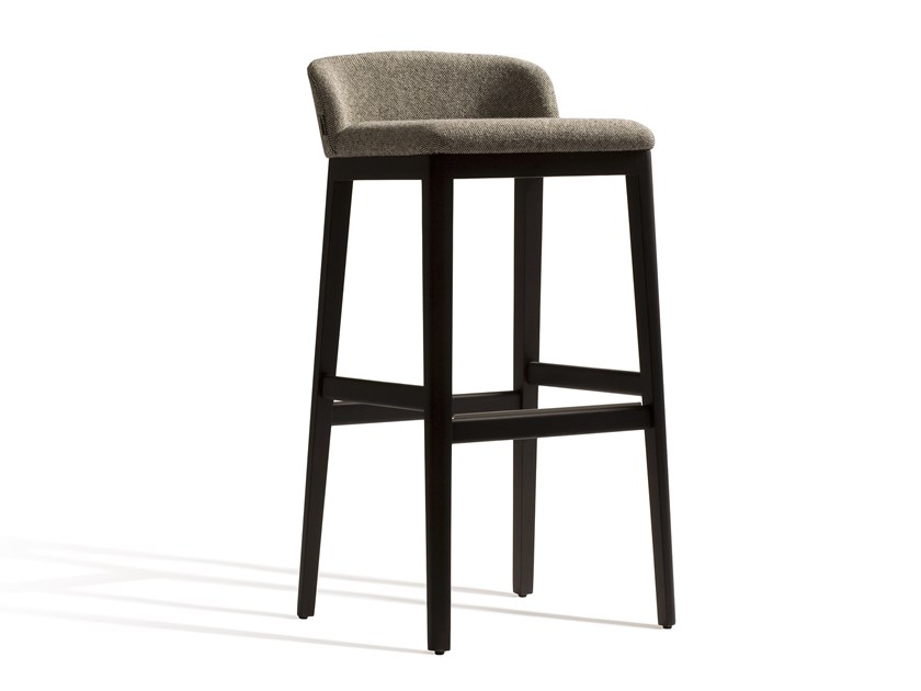 High fabric stool CONCORD 529M by Capdell