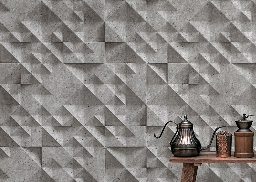 Washable Digital printing wallpaper CONCRETE by Architects Paper