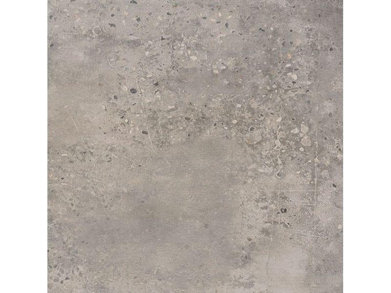 Porcelain stoneware flooring with concrete effect CONCRETE LIGHT GREY by Ceramica Fioranese